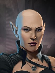 Character and NPC Portraits from Shadowrun Returns and Shadowrun: Dragonfall