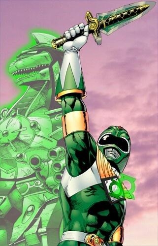 power ranger green  lantern
