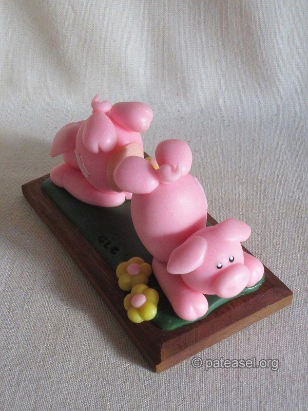 les deux petits cochons