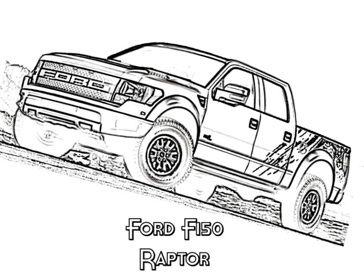 ford vehicle printable coloring pages - photo#14