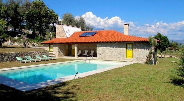 As mais fantásticas casas com piscina no Gerês