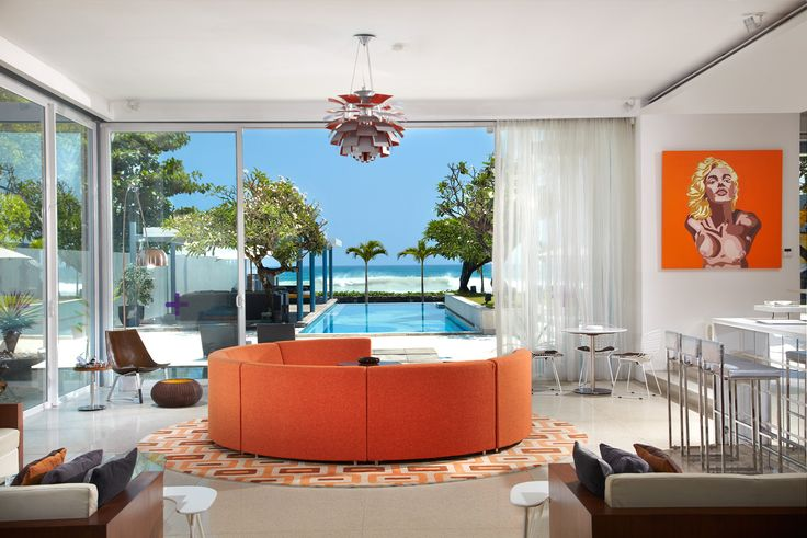 #Luna2 private hotel #MelanieHallDesign #Bali #Seminyak #Marilyn #Monroe #Design #Hotel www.luna2.com