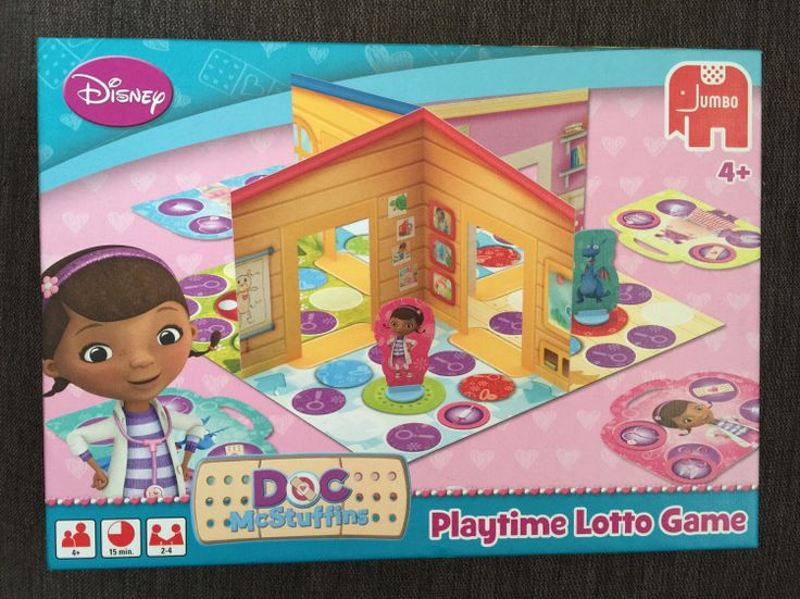 Doc McStuffins Playtime Lotto Game