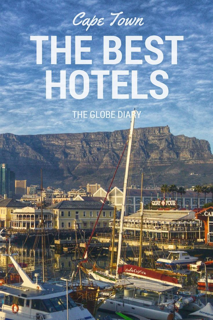 The Best Hotels in Cape Town