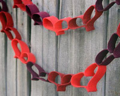 31 mejores im genes sobre decoraci n para san valent n en - Como hacer adornos de san valentin ...