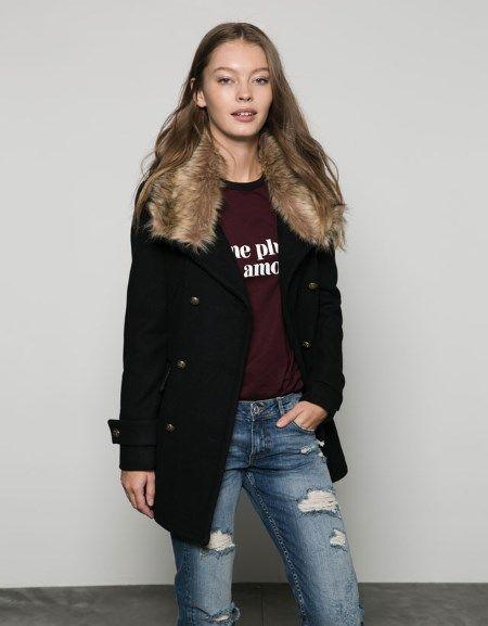 Bershka jakne i kaputi za jesen/zima 2015 – 2016 - Ženstvena