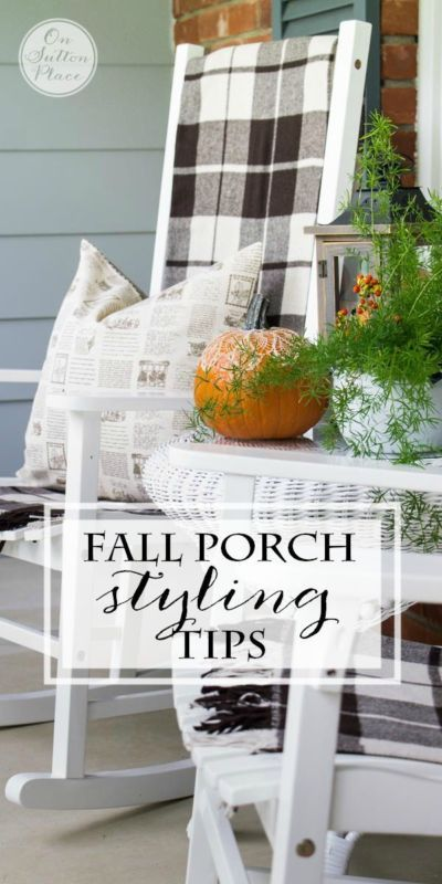Are you looking for a new way to decorate the porch as the seasons change? Use pumpkin ornaments, vines, and lights as decorations to add seasonal charm to your entryway. Be sure to incorporate the colors of the season, like a pop of orange, a flourish of green, and a splash of dark bronze to add substance to the décor. Natural elements like grapevines, berries, or dried corn stalks also add flair. Visit eBay for more detailed instructions to help your porch transform with the seasons.