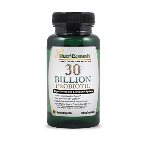 NutriCommit 30 Billion Probiotics Vegetable Capsules(60) strain of BACILLUS subtilis coagulans prebiotics supplement. One daily dose supports digestive and immunity health. No Refrigeration required https://probioticsandweightloss.info/nutricommit-30-billion-probiotics-vegetable-capsules60-strain-of-bacillus-subtilis-coagulans-prebiotics-supplement-one-daily-dose-supports-digestive-and-immunity-health-no-refrigeration-required/