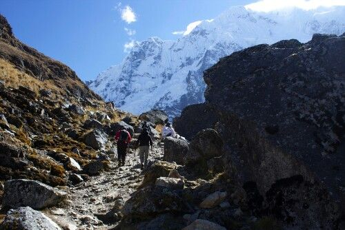 Peru Salkantay trail
