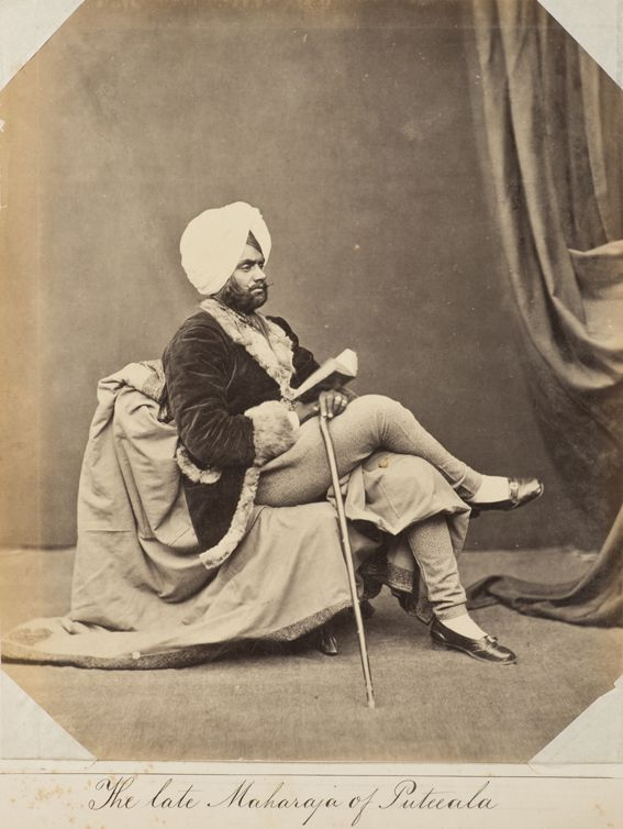 The Late Maharaja of Putuala