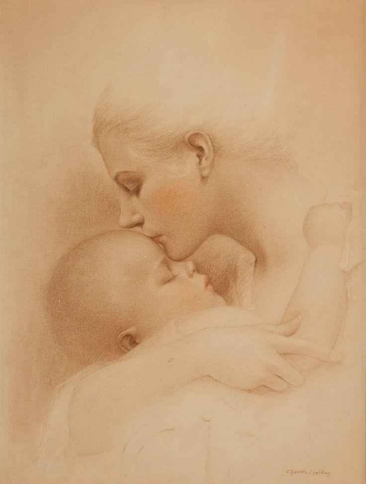 Открытки с младенцем на руках