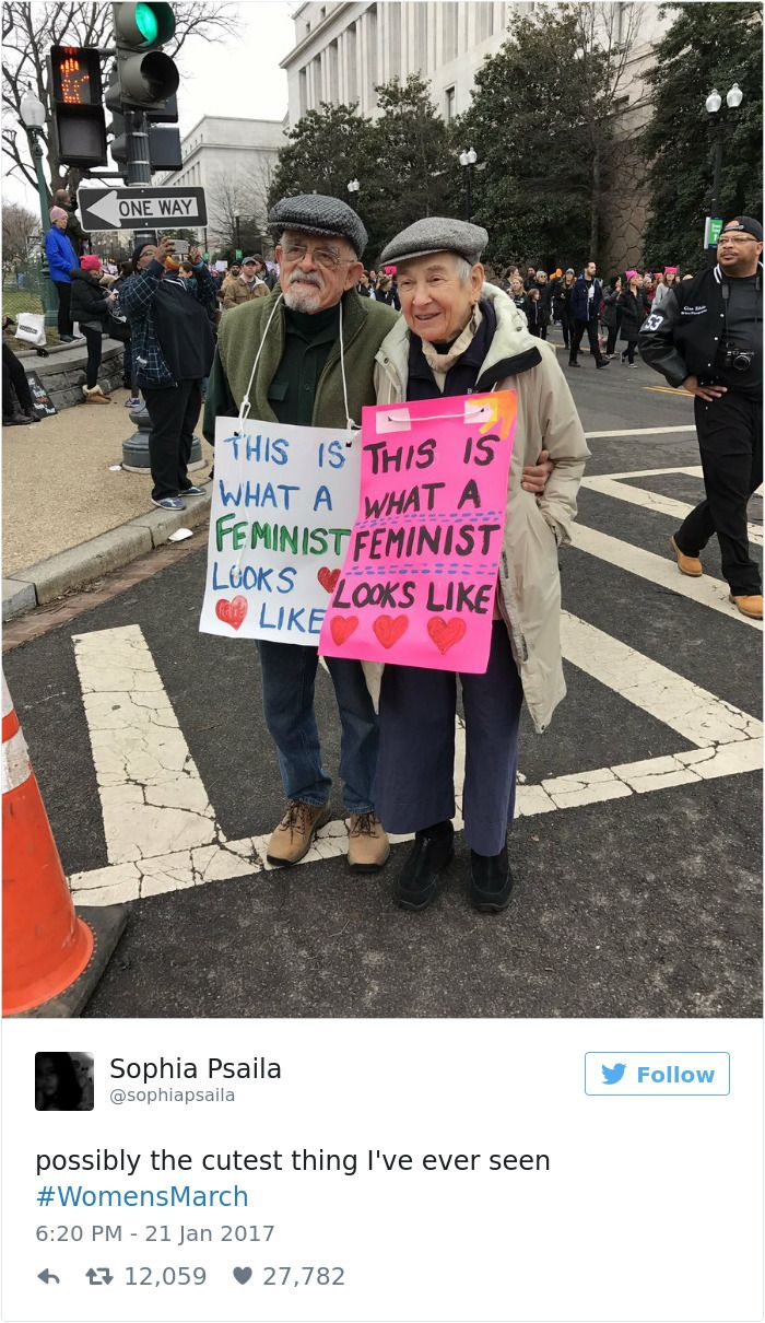 10+ Of The Best Signs From Women's Marches Around The World | Bored Panda
