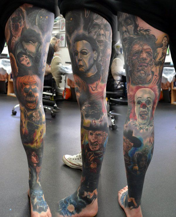 Horror Movie Tattoos Tattoos: 280 Best Images About Tattoo Ideas On Pinterest