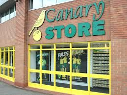 The Canary Store - a must for every Norwich City FC fan