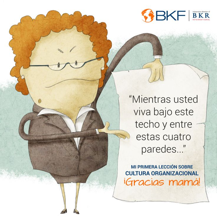 De ti aprendí a construir un ambiente productivo, aprendí a construir una #menteBKF. #FelizDíaMamá