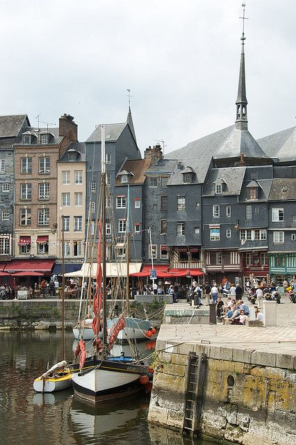 Honfleur ~ France. Our tips for 25 Places to Visit in France: http://www.europealacarte.co.uk/blog/2011/12/22/what-to-see-in-france/