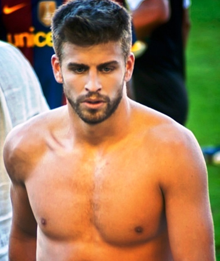 Gerard Pique. The fact that he's 6'4'' makes it even better. BAD NEWS LADIES: Shakira got there first -_-  @Veronica Martineau @leah frechette @Katie Towers @Nicole Brayiannis