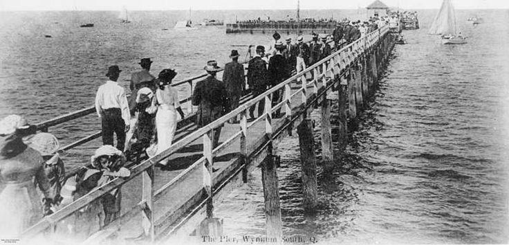 Wynnum South Jetty, Brisbane, ca. 1910