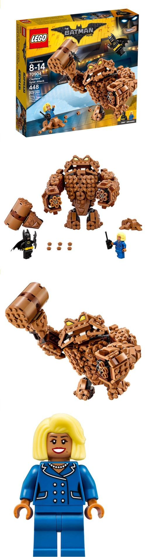 Minifigure Parts and Accessories 180023: Lego Batman Movie Clayface Splat Set 70904 New! -> BUY IT NOW ONLY: $44.99 on eBay!