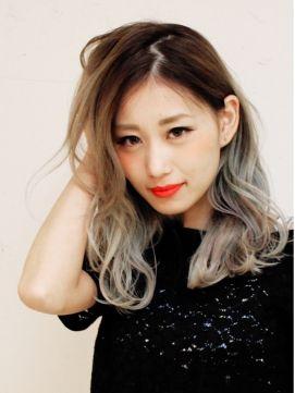 ヘアーサンディ hair SUNDY ★外国人風ハイトーングラデーションカラー LONG ★