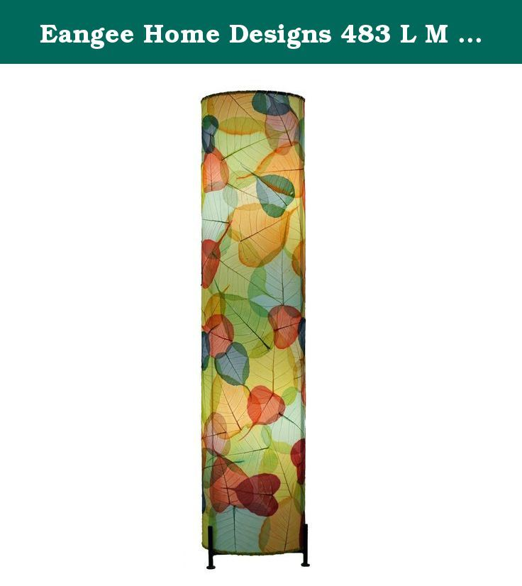 Eangee Home Designs 483 L M 2 Light Banyan Large Floor Lamp. Eangee home designs 483 L m 2 light banyan large floor lamp, this product is used for decorative purposes. The style type is contemporary. The material type is banyan leaf; metal. The romance finishing is of type multicolor. The country of origin is Philippines .