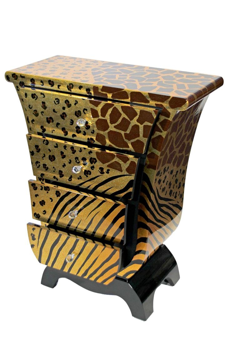 Casa Collection Leopard Kommode in Tulpenform