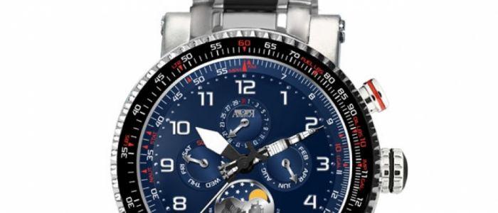 Aviador Neil Armstrong Se presentará en Iberjoya como primer reloj del mundo que rinde tributo al hombre que 'conquistó' la Luna en 1969.