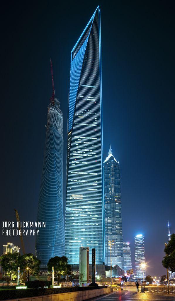 Shanghai World Financial Center, China, 1997 | Kohn Pedersen Fox