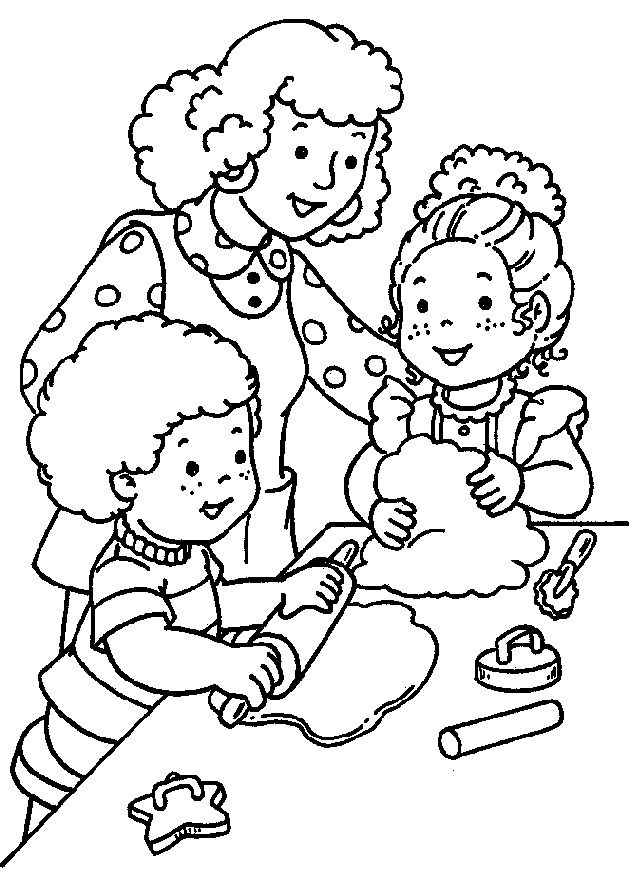 coloringteaching lets color a picture of joey and susie joey and susie seem happy dont they nod your head yes and smile i think they are happy