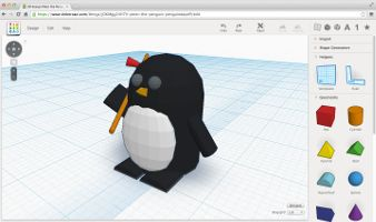 TinkerCAD is free, web-based 3D modeling software that allows you to easily create your own models and export .stl files for 3D printing. It's even easy enough for elementary-aged students!