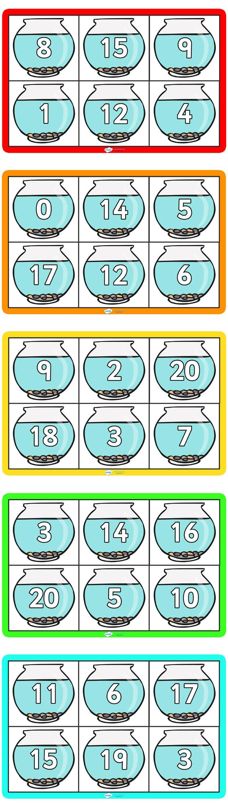 Twinkl Resources >> Number Bonds To 20 >> Thousands of printable primary teaching resources for EYFS, KS1, KS2 and beyond! number bonds, counting to twenty, adding to ten, bingo, counting,
