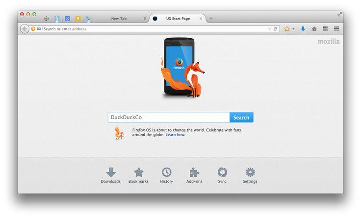 Firefox tendrá nueva interfaz se llamara Australis en OS X