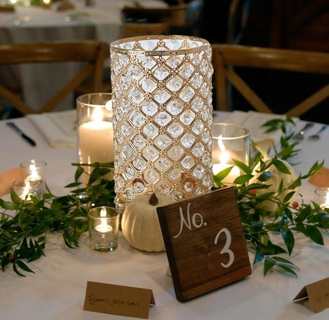 "2 x Prices Large Metallic Gold Pillar Church 6/"" Candle Christmas"
