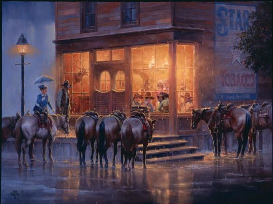In The Poker Game by Jack Sorenson