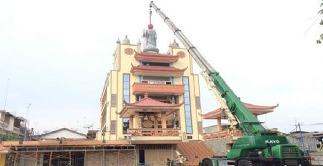 Penurunan Patung Buddha dan Status Karma Zopa #regional #verbivora #daerah