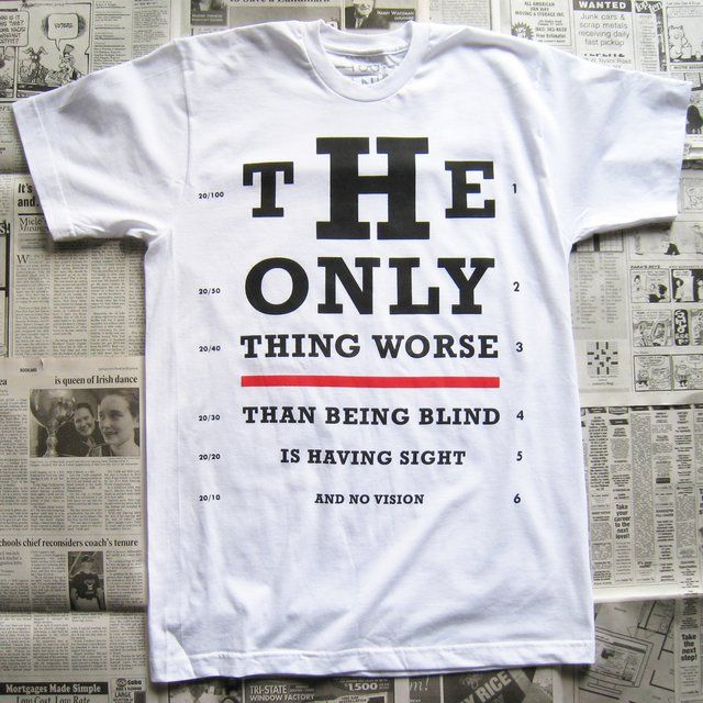 vision test tee - Cool T Shirt Design Ideas
