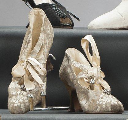 Hellstern & Sons. Evening Shoes - 1920's - @~ Watsonette