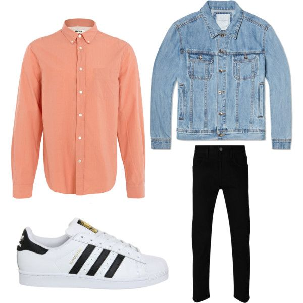 Untitled #3 by arvid-gustafsson on Polyvore featuring polyvore, Acne Studios, Gucci, Saturdays, adidas, mens, men, men's wear, mens wear and male