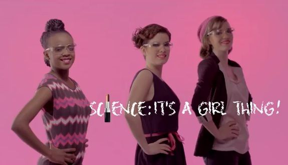 Pinkified Science Harms More than it Helps (click thru for video and analysis): Girls, It S, Videos, Thing Sciencegirlthing, Campaign Encouraging, Girl Things, Its A Girl, Ad Campaigns, Women
