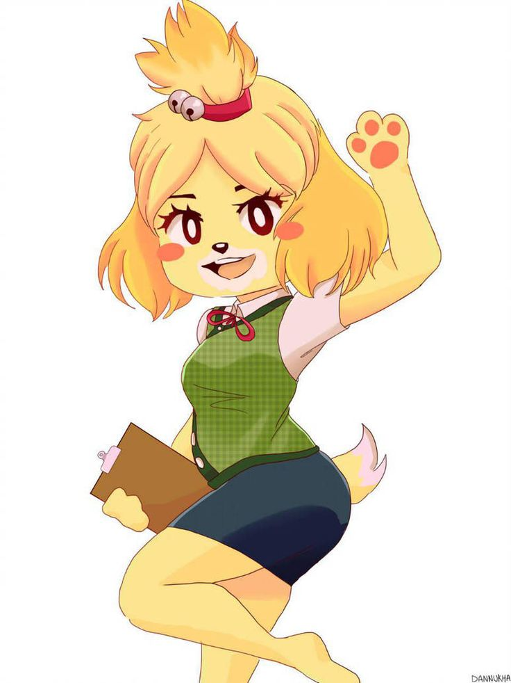 isabelle from Animal Crossing by dannukha | Animal ...