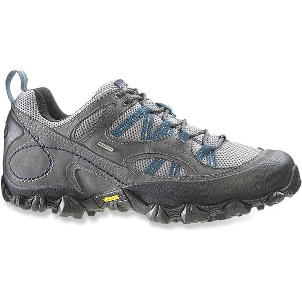 Patagonia Drifter A/C Low WP Hiking Shoes (165 NZD) ❤ liked on Polyvore featuring shoes, athletic shoes, mesh athletic shoes, low shoes, patagonia, water proof shoes and mesh shoes