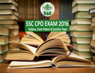 SSC CPO Exam Syllabus, Exam Pattern and Previous Year Question Paper #onlinetyari #ssccpo https://onlinetyari.com/ssc/ssc-cpo-exam-i46.html