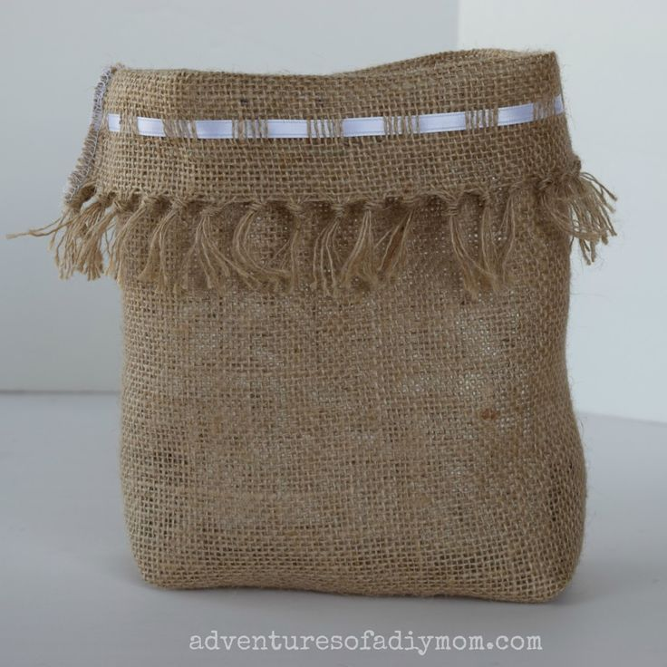 25 best ideas about burlap bags on pinterest burlap