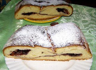 W Mojej Kuchni Lubię.. : pyszne ciasto drożdżowe z powidłami kakaowymi...