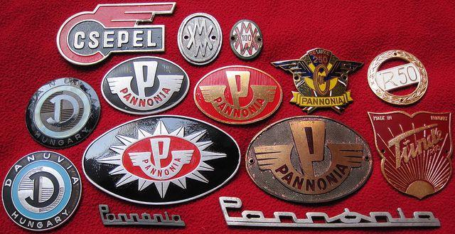 Hungarian Bike Badges