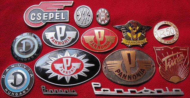 Hungarian Bike Badges