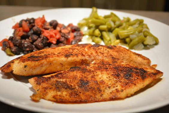 Pan Seared Cajun Tilapia