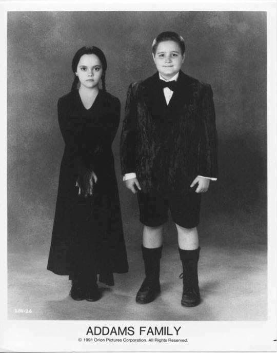 Wednesday and Pugsley