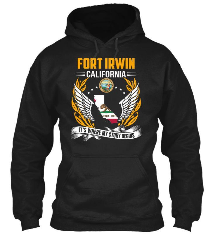 Fort Irwin, California - My Story Begins