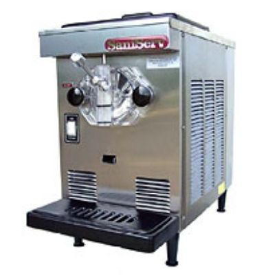 Saniserv 407R Countertop Soft Serve/Yogurt Freezer, 1 Head, 1/2 HP Compressor,115 V